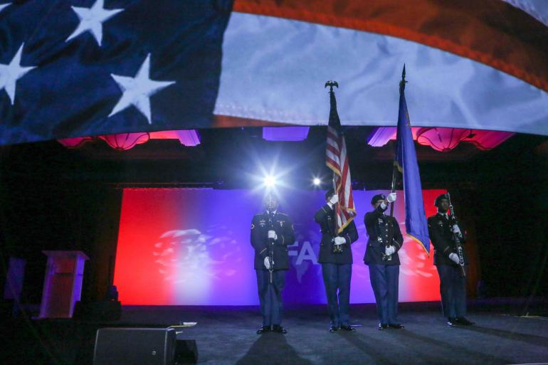 IFA's 2019 Convention kicked off with a spectacular and patriotic tribute to our service members